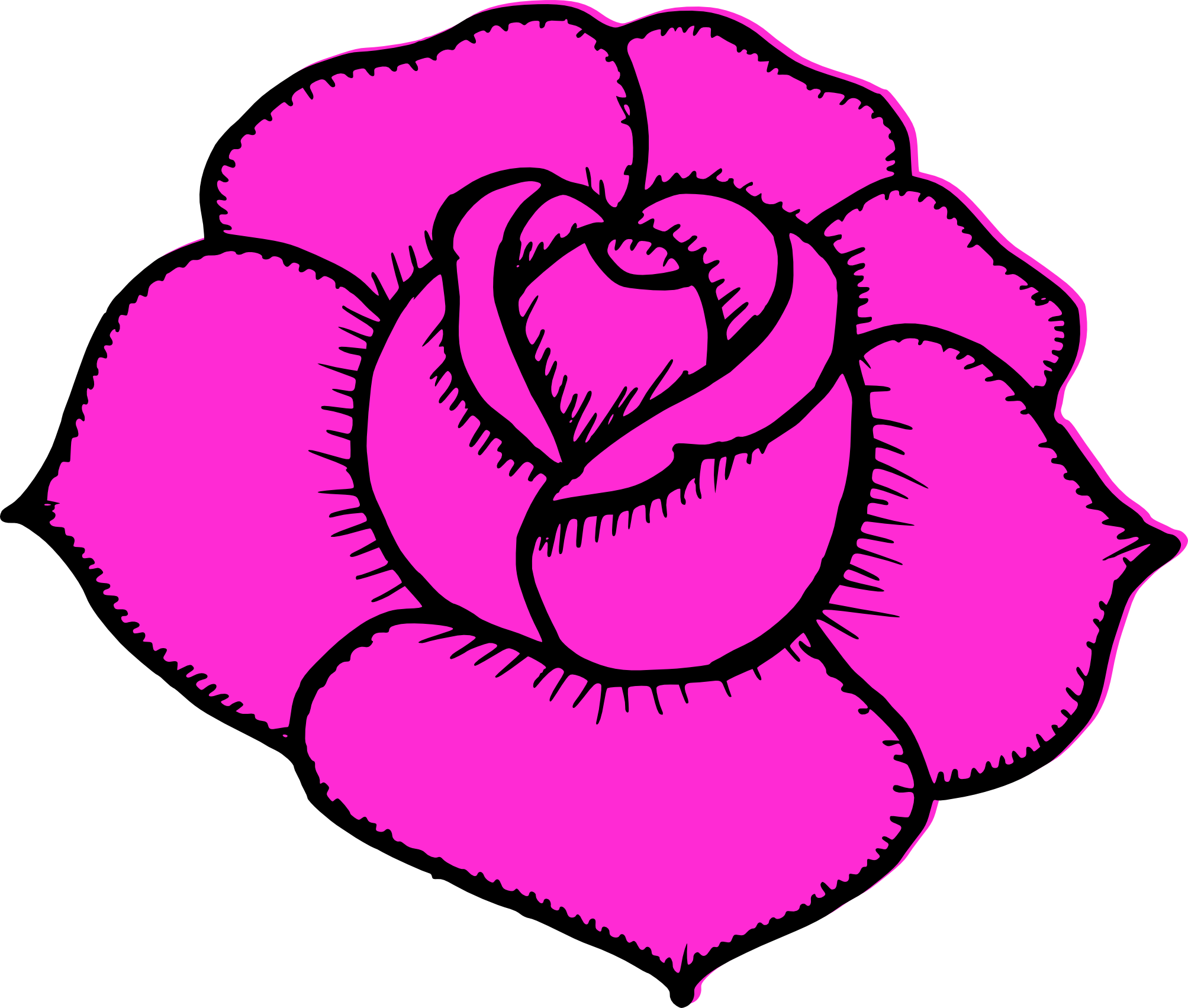 Vectorial drawing rose. Simple at getdrawings com