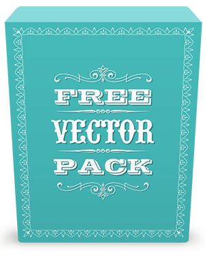 Vectorian vector victorian element. Free vintage pack ornaments
