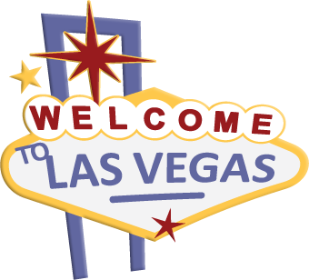 Las image stock free. Vegas vector symbol vector library download