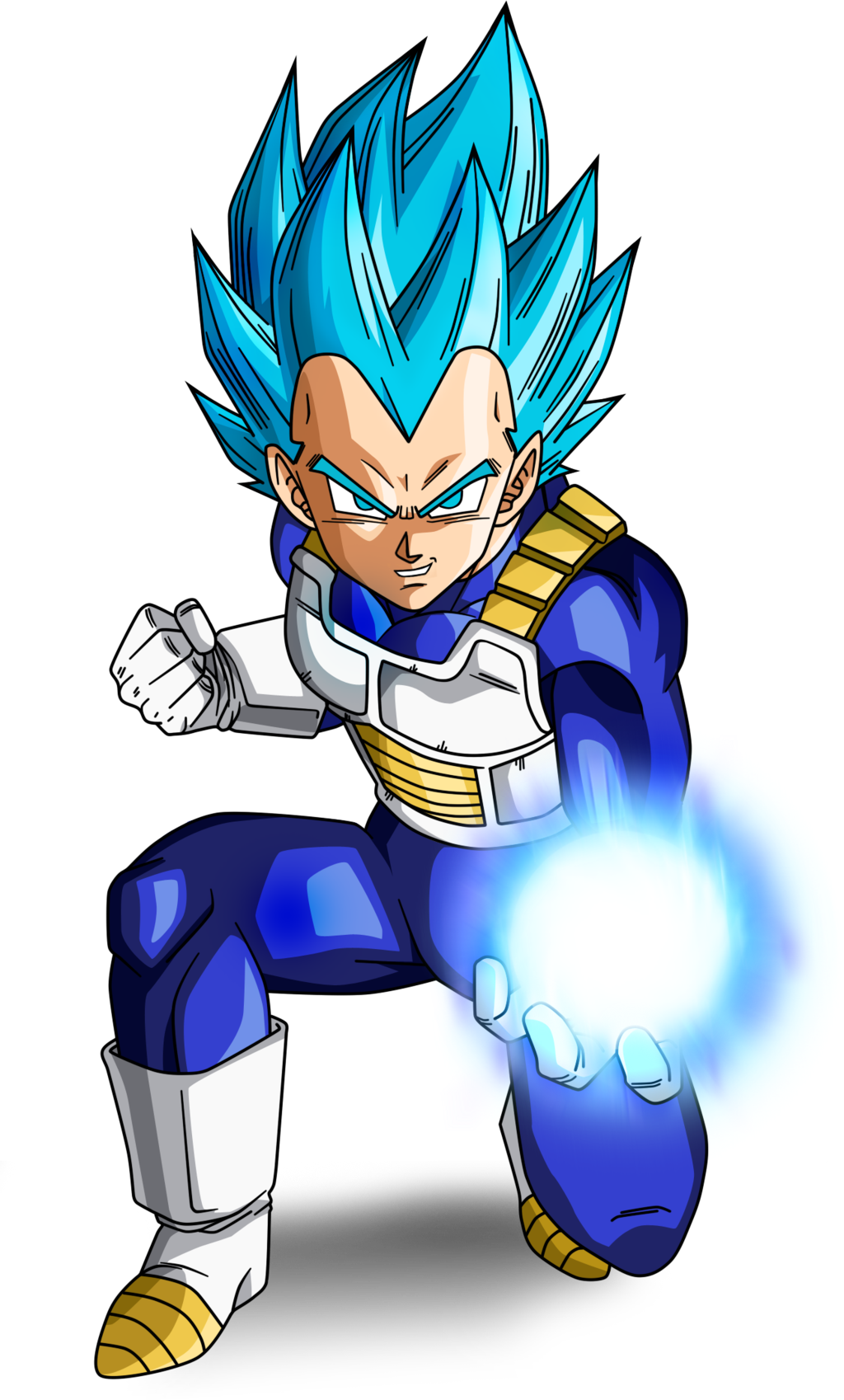 Ssj vegeta png. Image blue full power