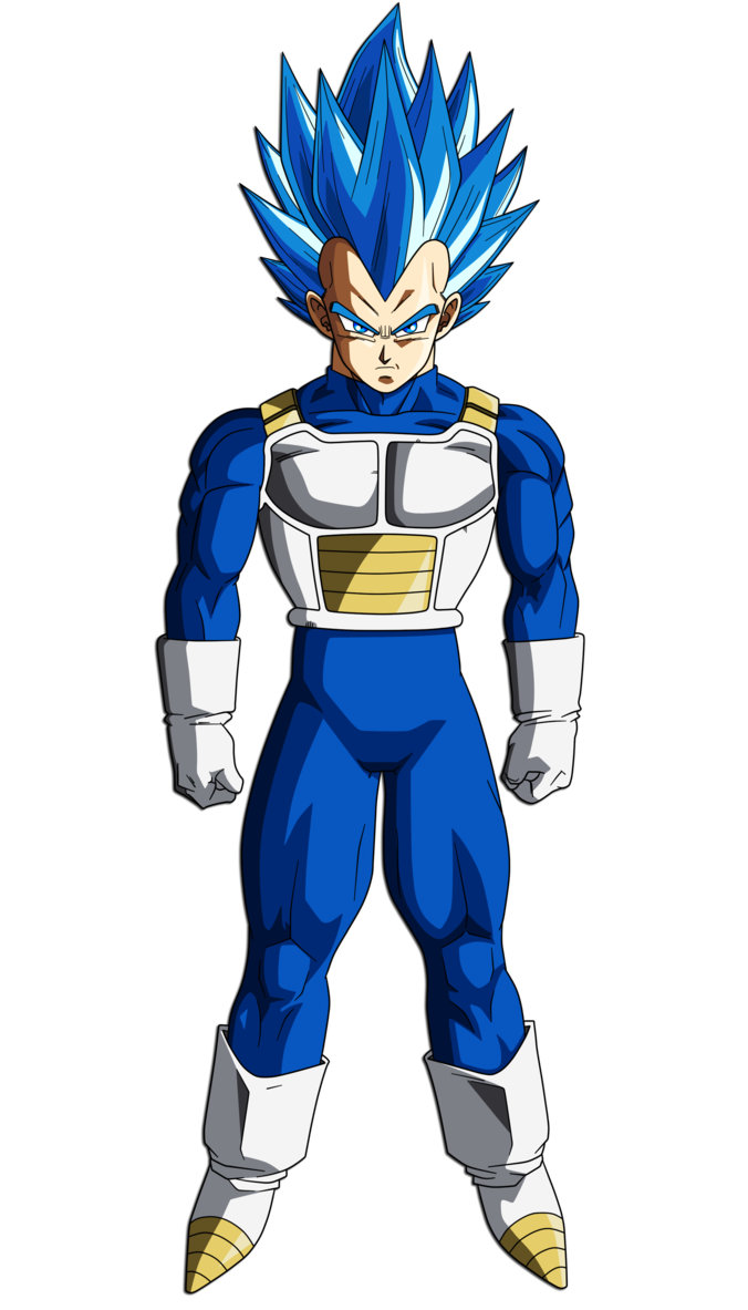 Blue evolution dragon ball. Super saiyan vegeta png svg transparent library