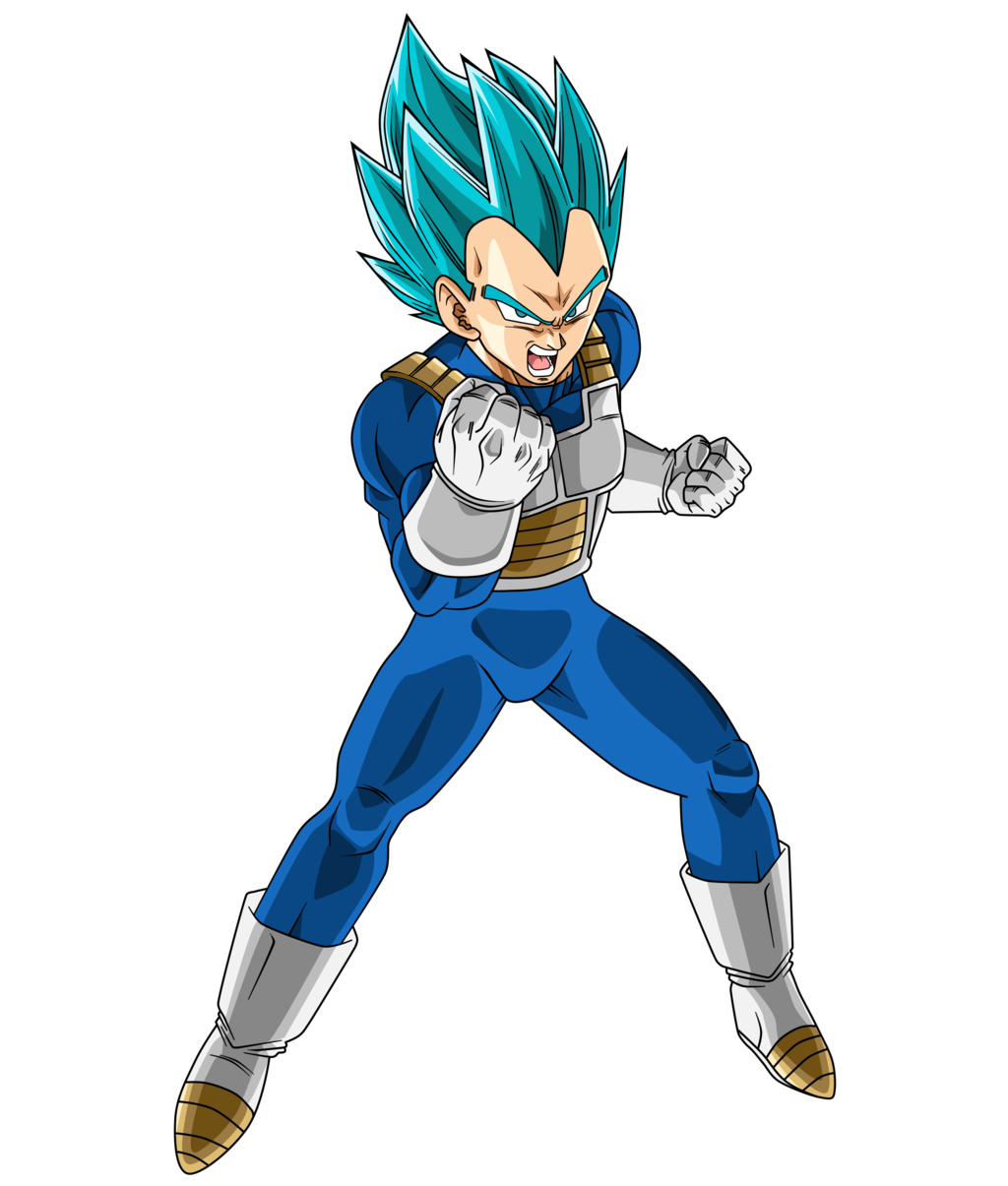 Ssj vegeta png. Image blue by saodvd