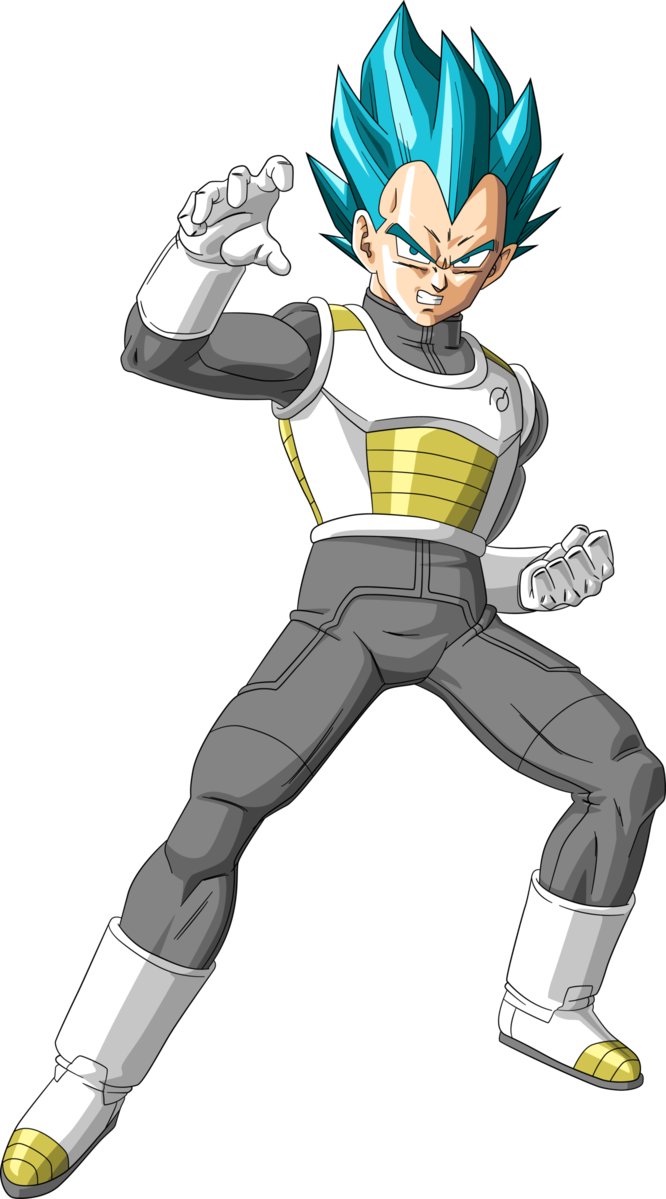 Vegeta dragon ball super png. Por qu es el