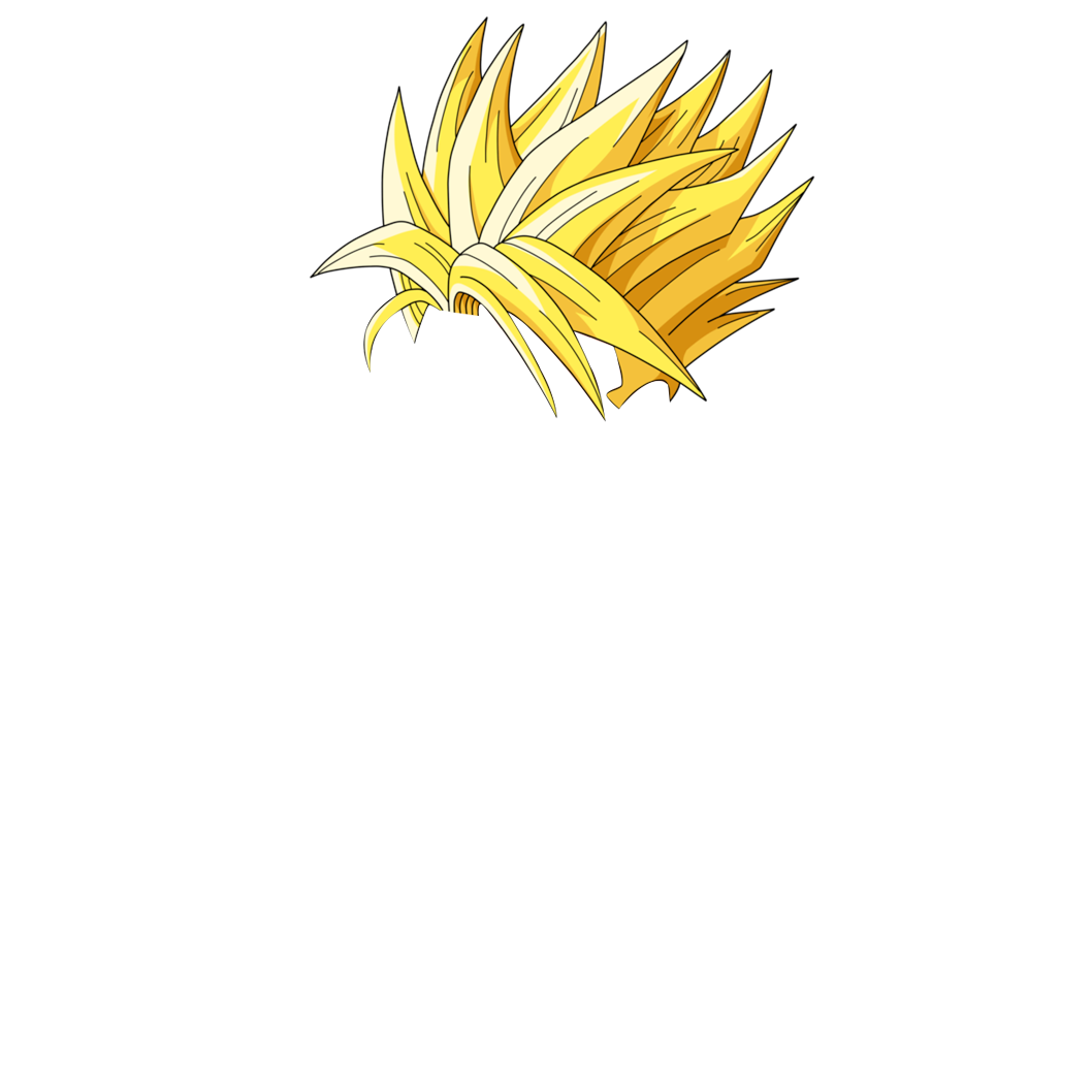 Vegeta hair png. Dragon ball z s