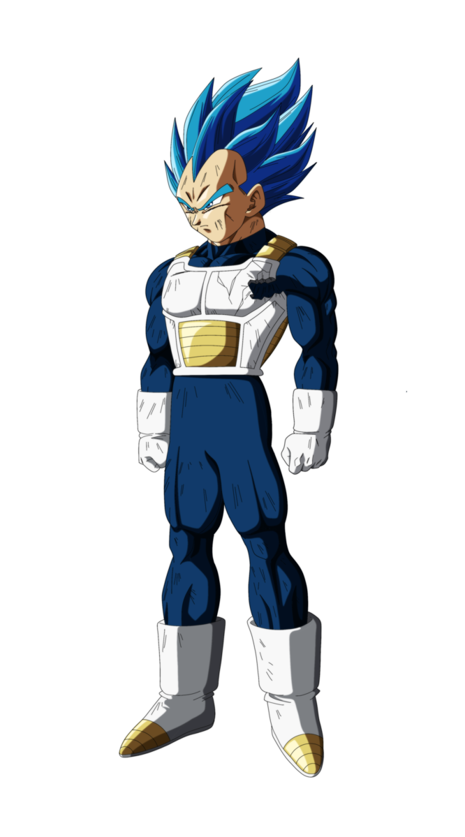 drawing vegeta full body