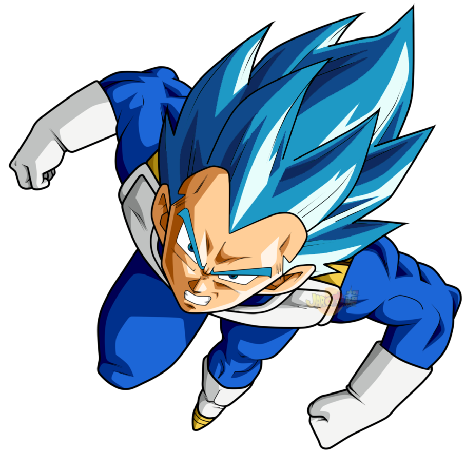 Vegeta new form png. By hunknell on deviantart