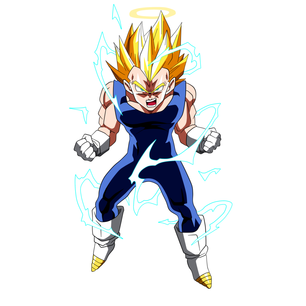 Image by dark crawler. Super saiyan vegeta png stock