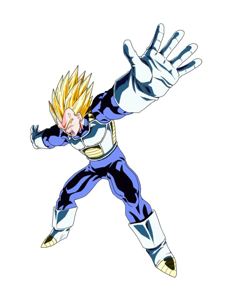 Vegeta vector transparent. Download free png picture