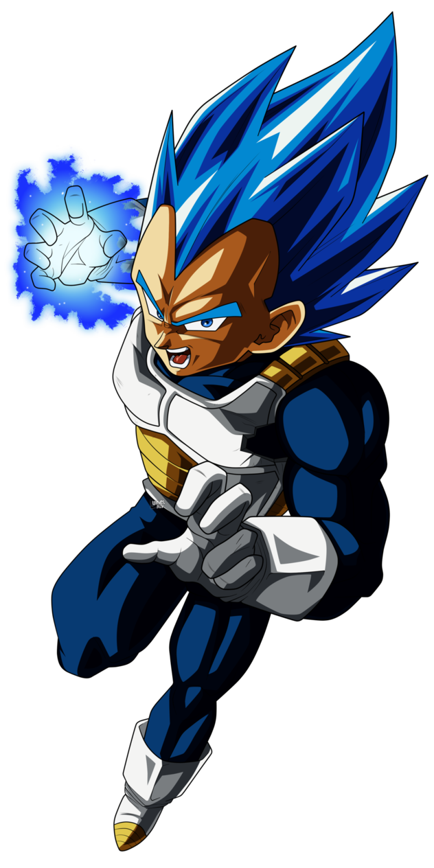 drawing vegeta ssj