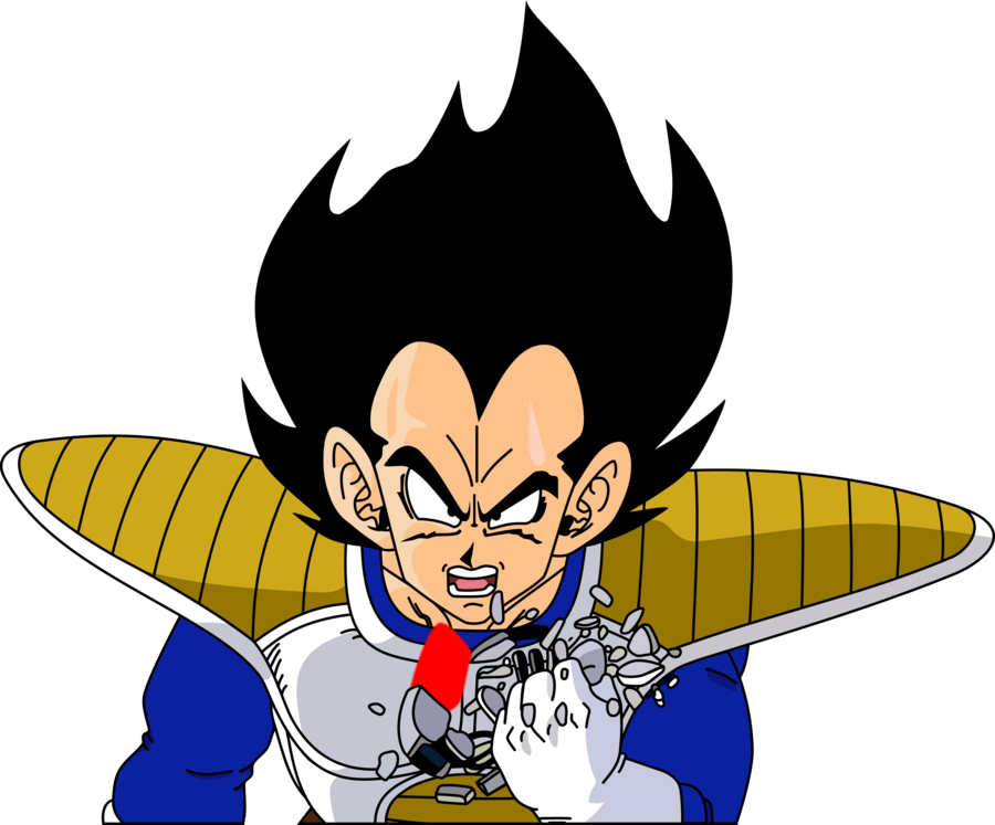 Image its over by. Vegeta vector art jpg royalty free