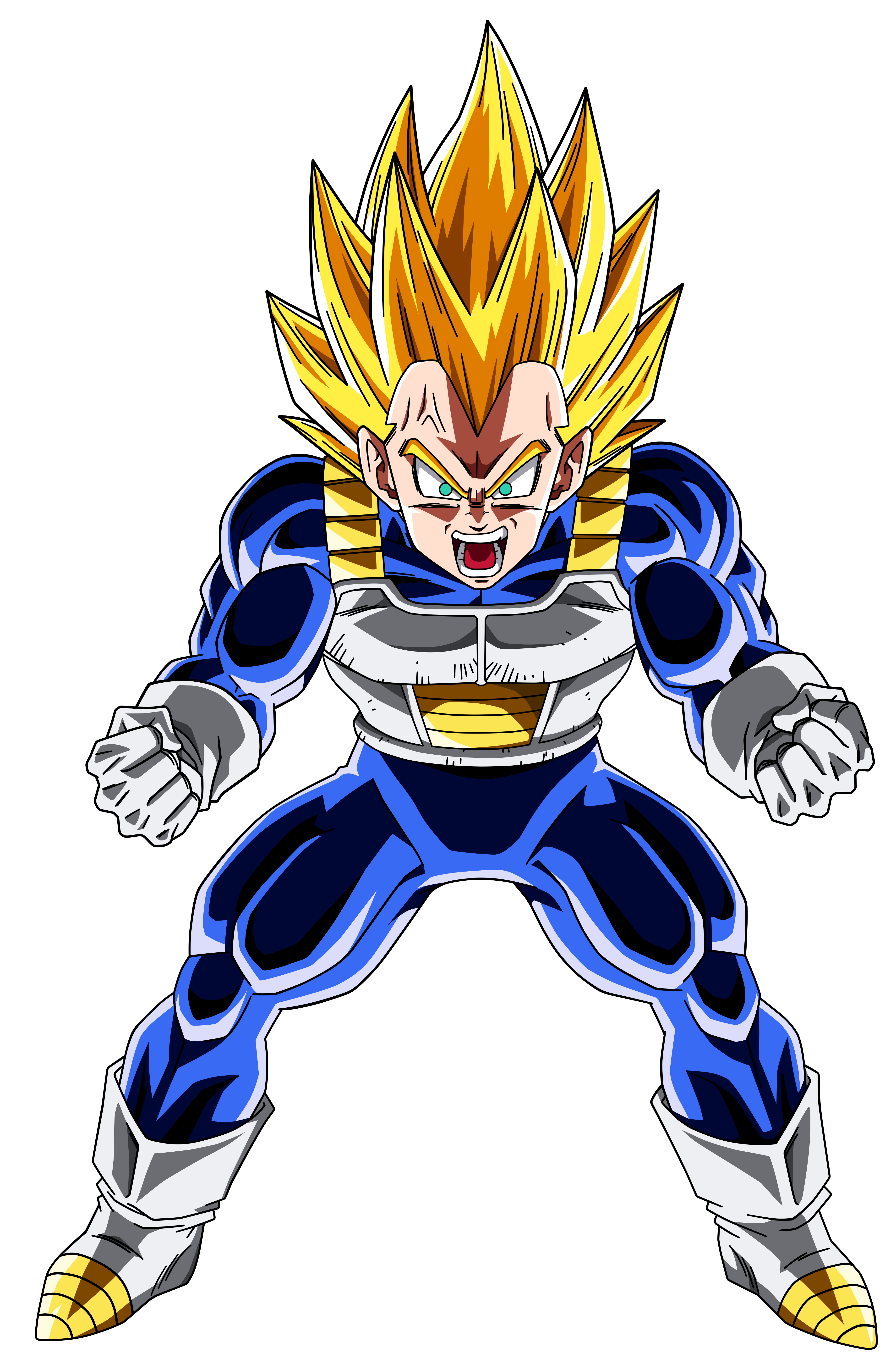 Vegeta vector cool. Colored v by vicdbz