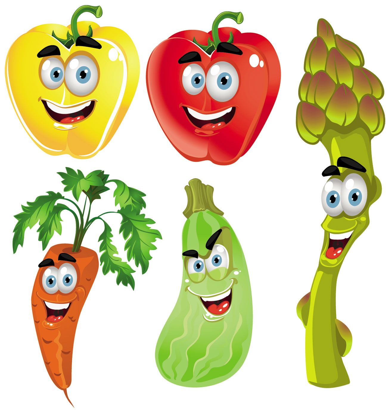 Vegetable clipart different vegetable. Fruits and vegetables cliparts