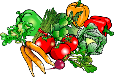 Image vegetables food clip. Veggies clipart graphic library