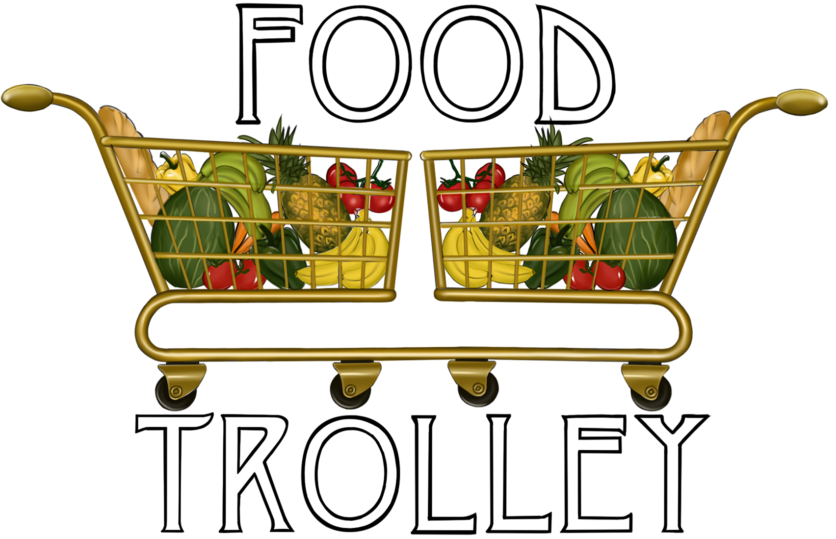 Vegetable clipart trolley. Food lagos fresh chilled