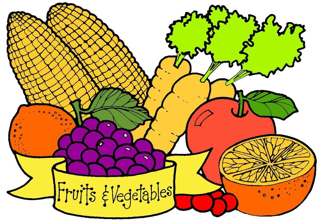 Fruit and veggie at. Veggies clipart clip art svg freeuse library
