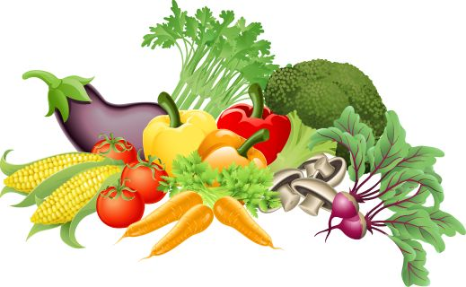 Vegetables clipart. Great clip art of