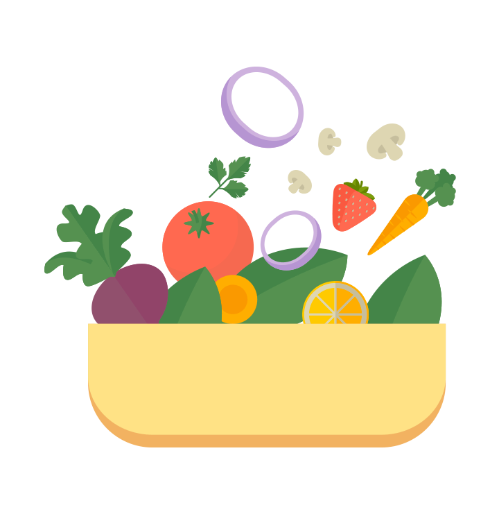 Vegetables clipart healthy living. My plate components