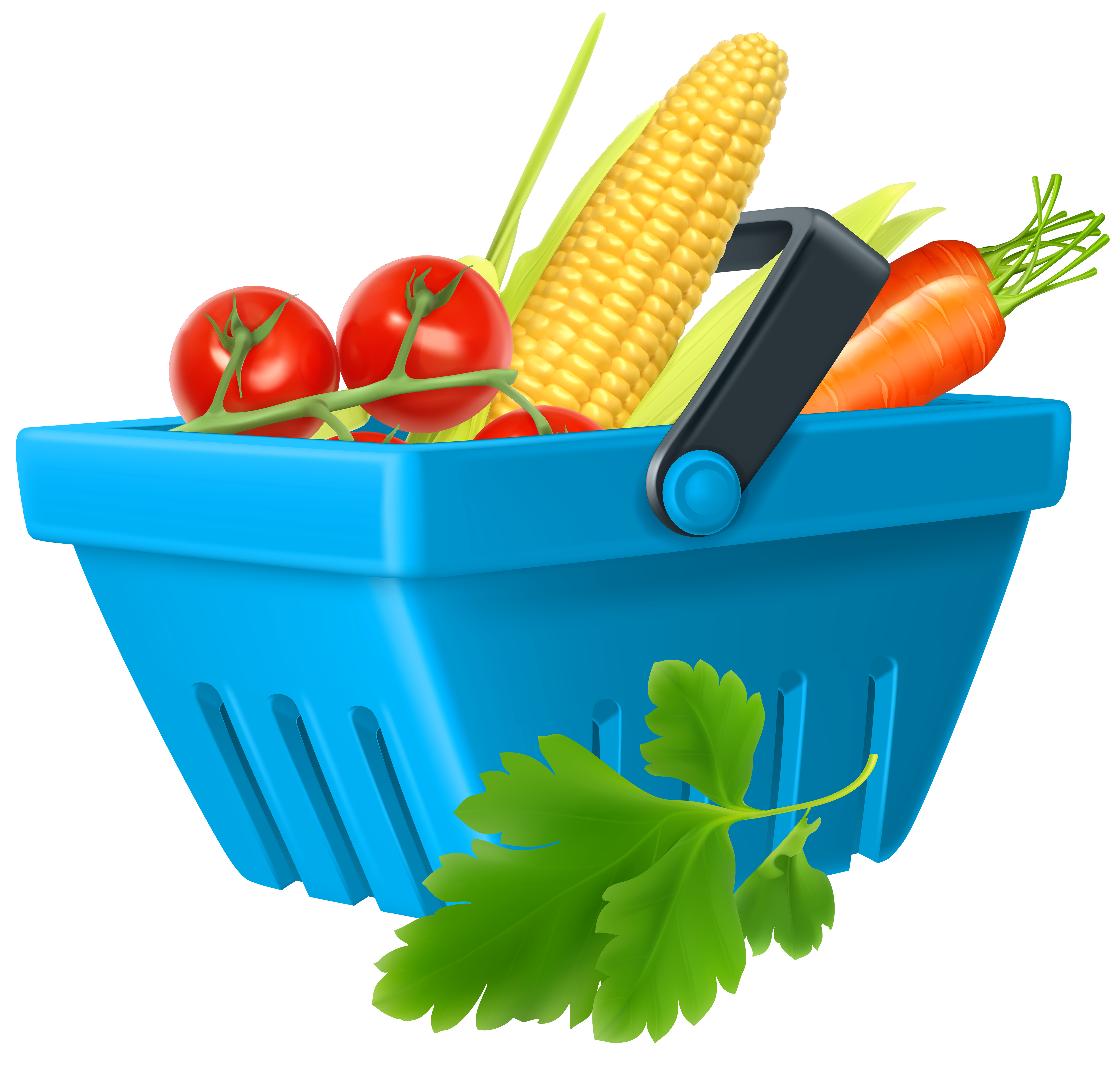 Vegetables clipart png. Basket with best web