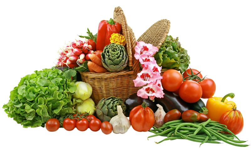 Vegetables png images. Vegetable basket picture gallery