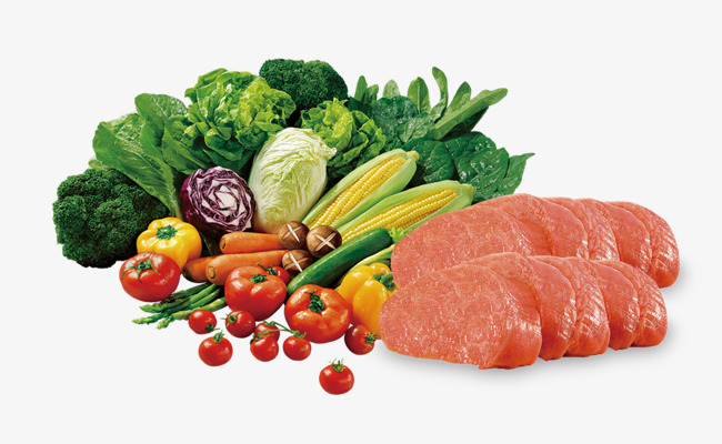 Veggies clipart meat. Fresh vegetables and hd