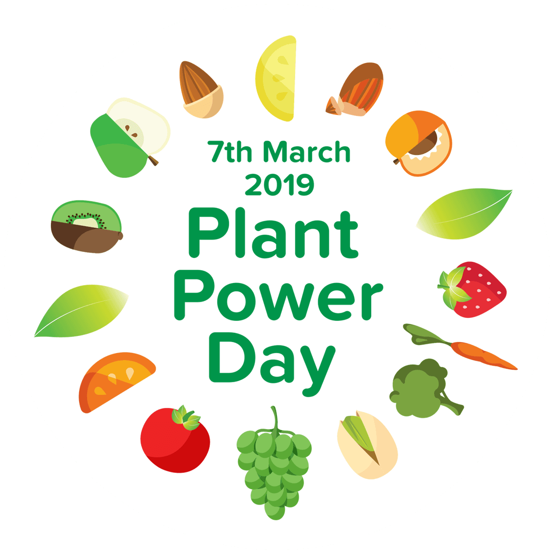 Power day alpro go. Veggies clipart plant based diet clip freeuse
