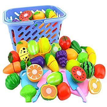 Veggies clipart play kitchen. Amazon com food with