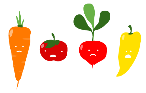 Veggies clipart sad. Works trn hu kid