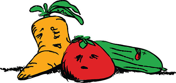 Veggies clipart two. Fruit and veggie at