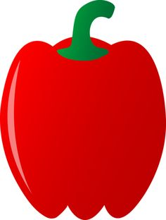 Veggies clipart two. Large red painted apple