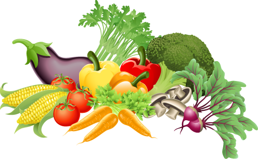 Veggies clipart. Graphic design pinterest fresh