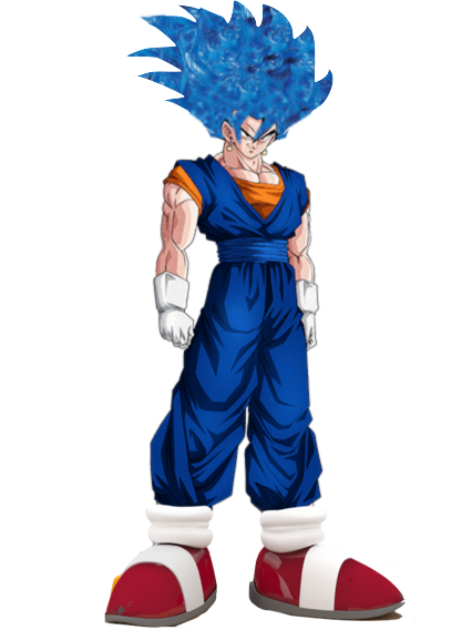 Vegito blue png. Image fake dragon ball