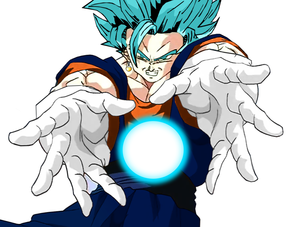 Vegito blue png. By vegitogtx on deviantart