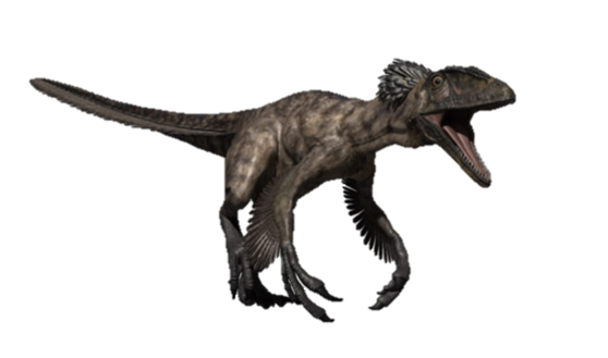Velociraptor body png. Deinonychus walking with wikis