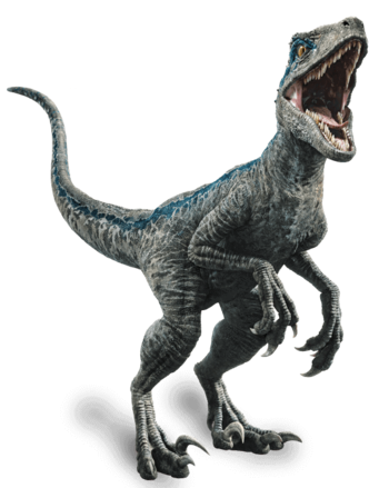 Velociraptor body png. Blue jurassic world vs