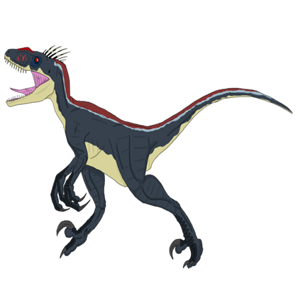 Velociraptor drawing png. Male roblox