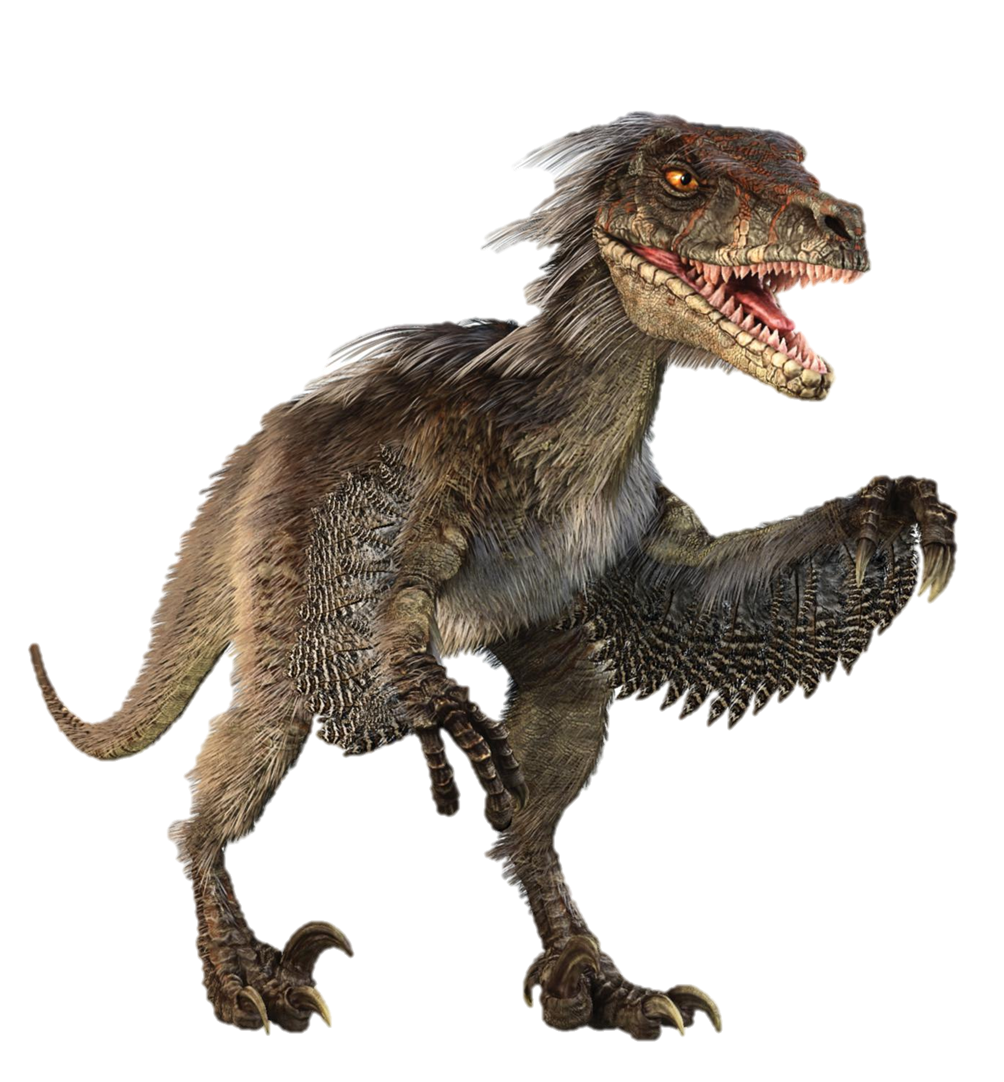velociraptor transparent ultra