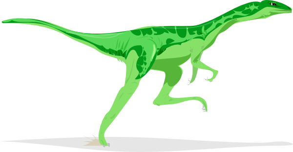 Velociraptor vector clipart. At getdrawings com free