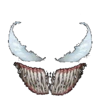 Venom face png. Roblox