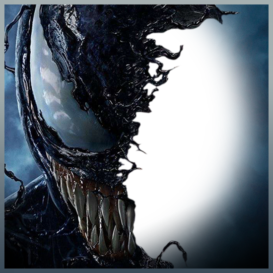 Venom face png. Let take over sony