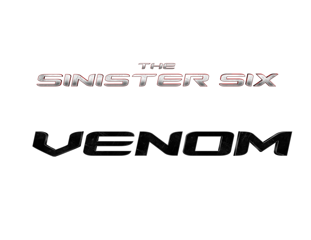 Venom movie logo png. The sinister six by