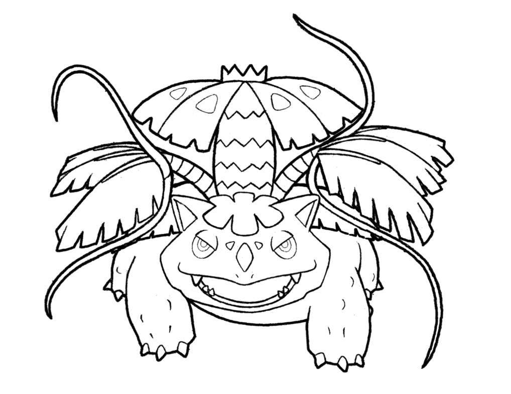 Venusaur drawing. At getdrawings com free