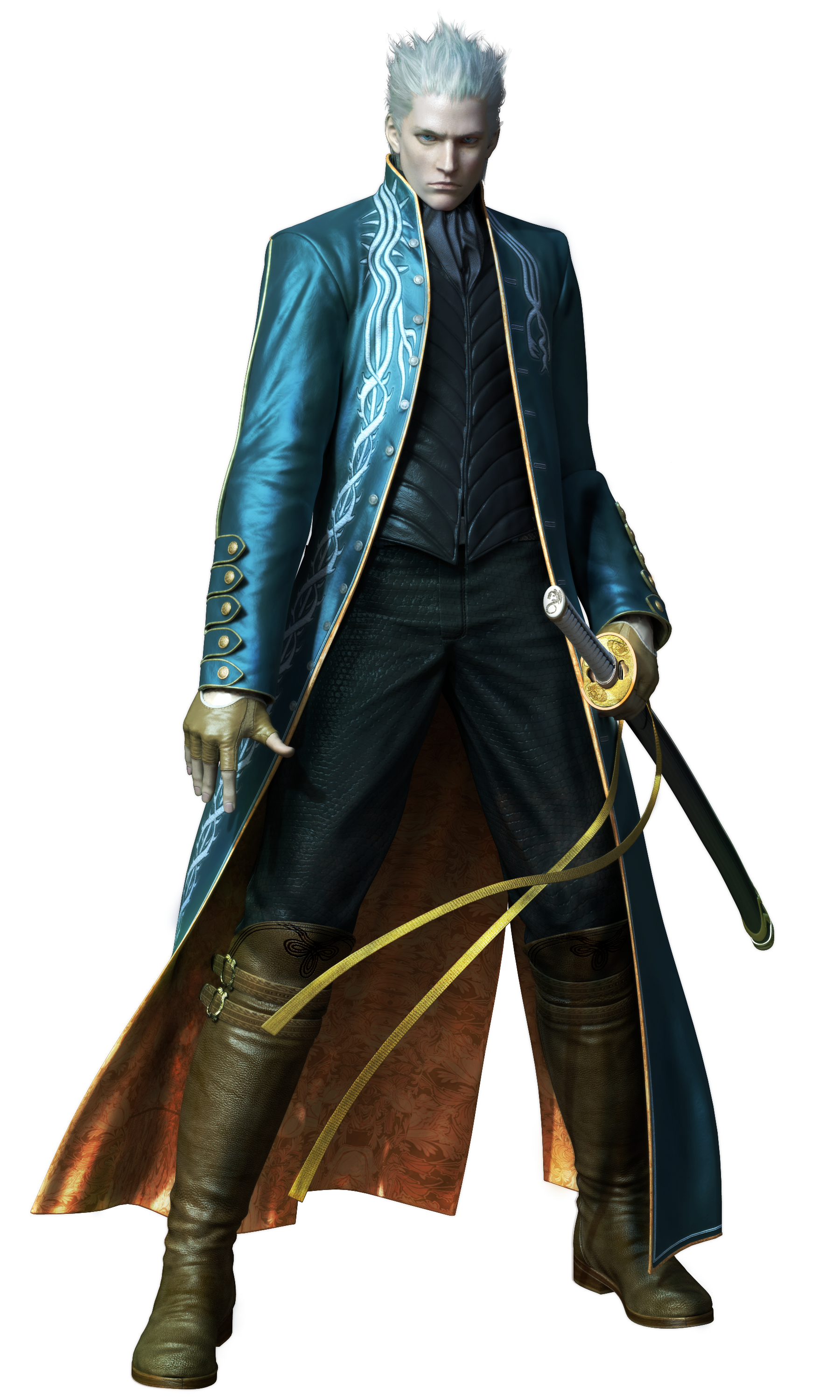 Vergil devil may cry png. Image wiki fandom powered