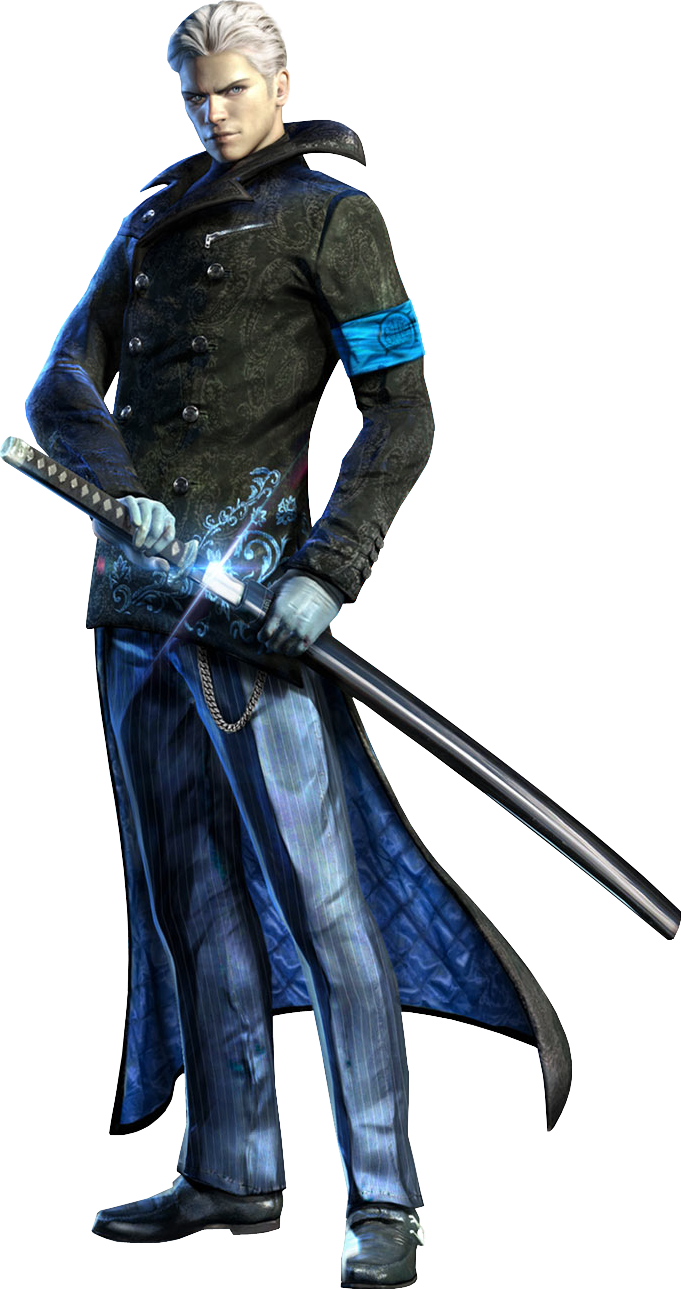 Vergil devil may cry png