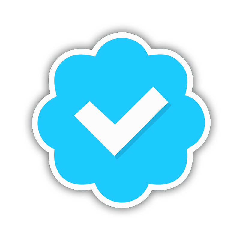 Verified badge png. How to get your