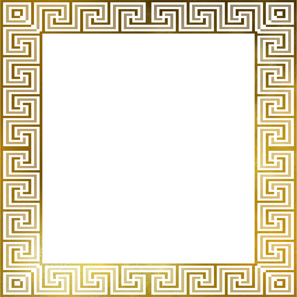 Versace border png. R gold stuff pinterest
