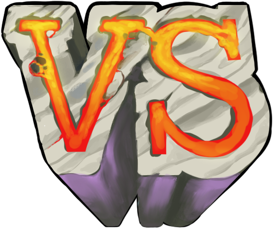 Vs png. Versus graphic for fighting