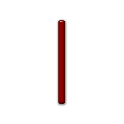 Vertical line png. Simple red glossy