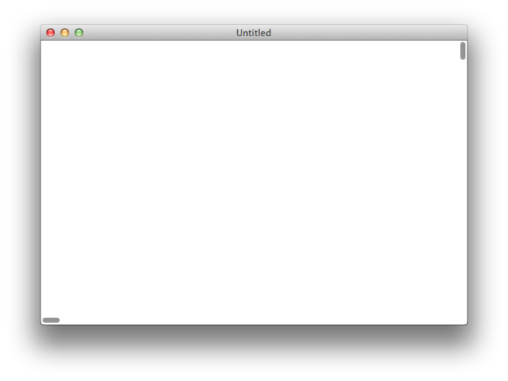 Vertical scroll bar png. Cocoa nsscrollview bars are