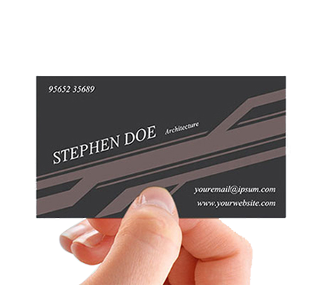 Vertical vector business card. Vicks design free download