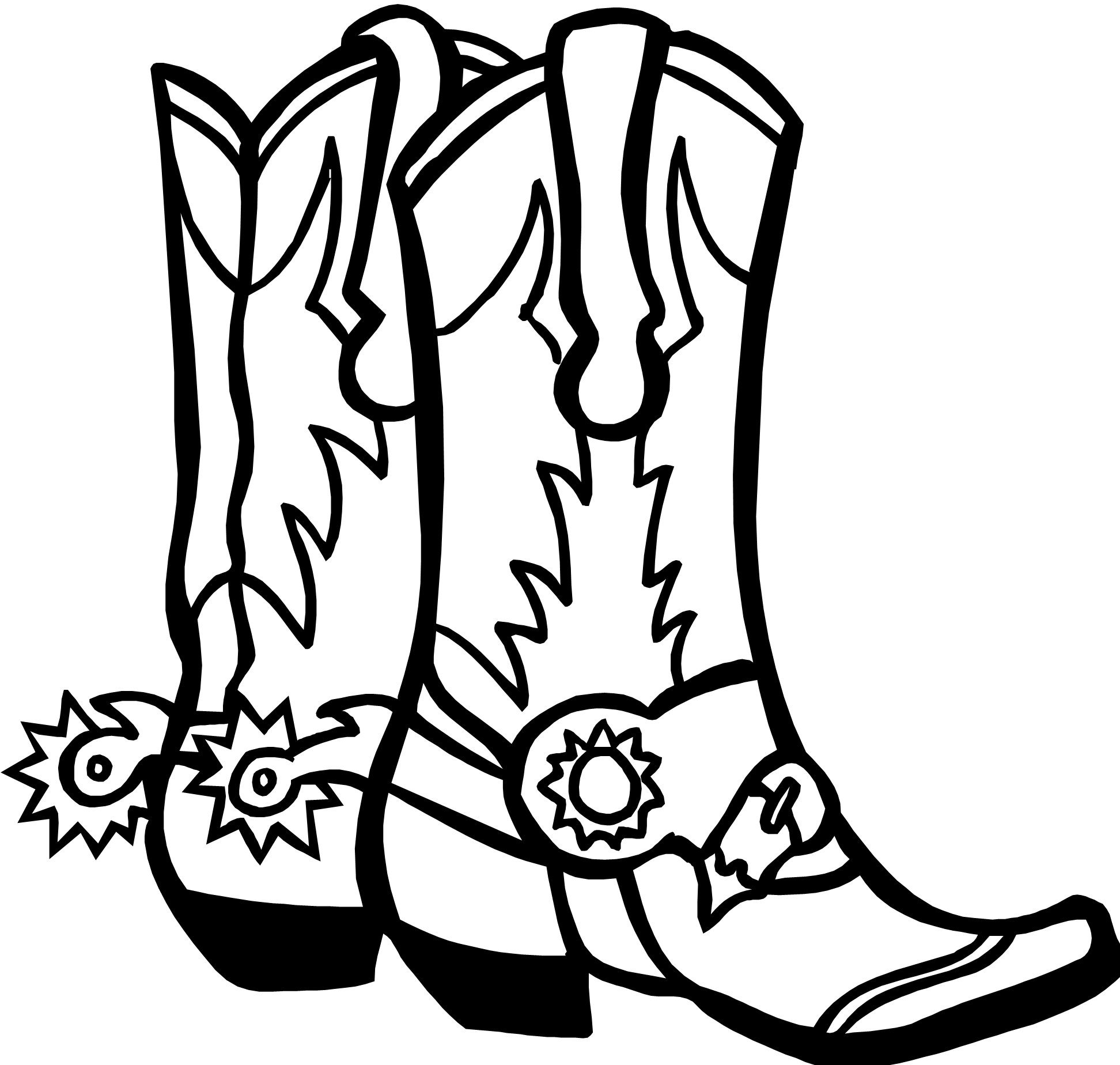 Vet drawing coloring page. Cowboy hat sheets open